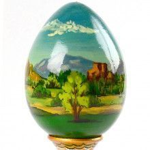 Arizona Golf Lover's Wooden Egg