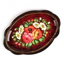 Zhostovo Serving Tray