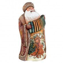Large Ded Moroz With Accordian