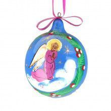 Christmas Angel Ball Tree Ornament