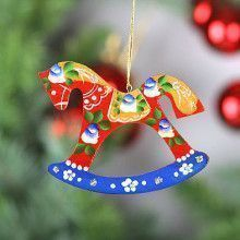 Rocking Horse Tree Ornament