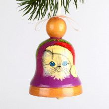 Cute Kitty Xmas Tree Ornament