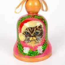 Christmas Kitty Tree Ornament