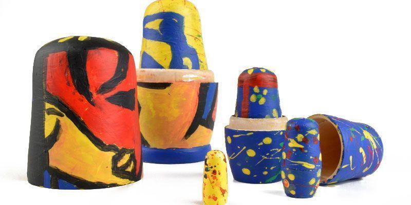 Fred Smith Nesting Doll Art