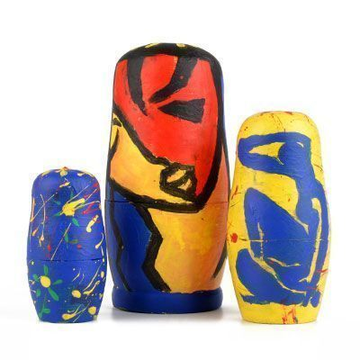 Fred Smith Artist Nesting Doll