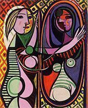 Picasso Painting - Girl Before A Mirror