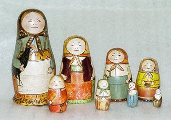 The First Matyroshka Doll