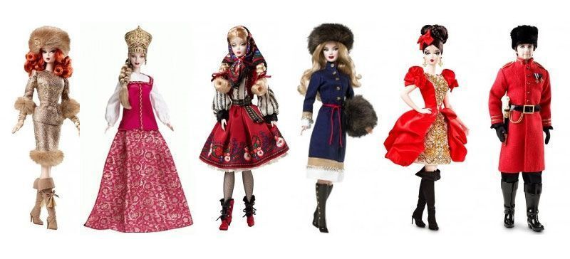 Russian Barbie Dolls