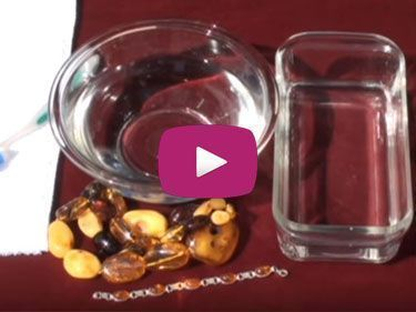 Video on How to Clean Your Amber Jewelry