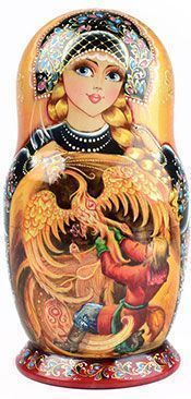 Firebird Fairytale Nesting Doll