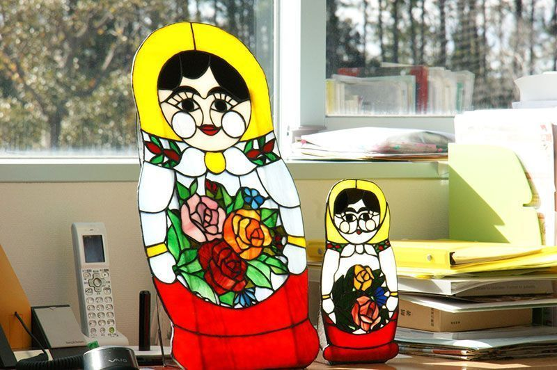 Stained Glass Matryoshka