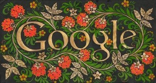 Russian Style Doodle-For-Google