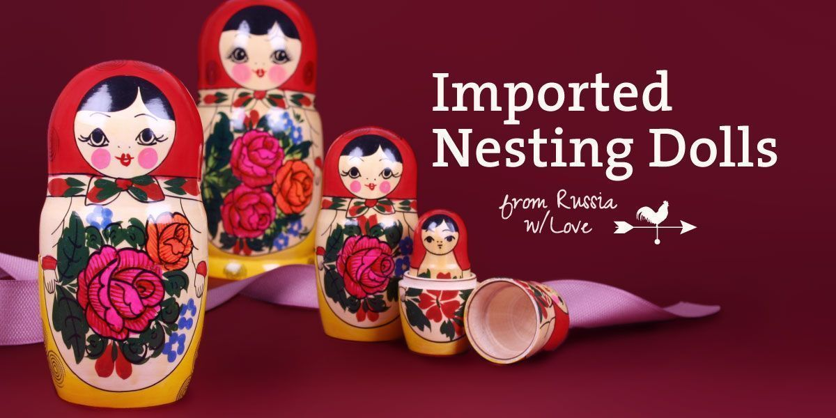Imported Russian Nesting Dolls