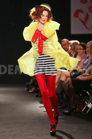 Model Wearing Pika Spring / Summer 2013 collection