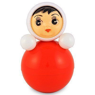 Nevalyashka Roly-Poly Russian Doll